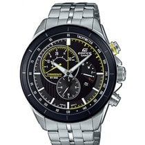 Casio Edifice Zeljezo 46mm Crn