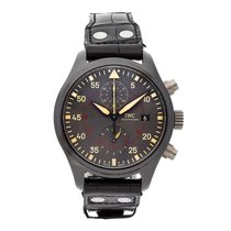 IWC Pilot Chronograph Top Gun Miramar tweedehands 44.5mm Keramiek