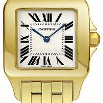 Cartier Santos Demoiselle new Quartz Watch with original box and original papers W25062X9