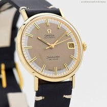 Omega Seamaster DeVille pre-owned 34mm Yellow gold