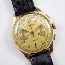 Chronographe Suisse Cie Yellow gold 36mm Manual winding pre-owned