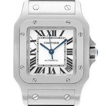 Cartier Santos Galbée Steel 32mm White Roman numerals United States of America, Florida, Surfside