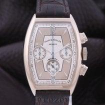 Franck Muller Casablanca Oro bianco 32mm Argento Arabo