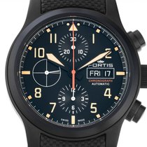 Fortis new Automatic Luminescent Hands Luminous indexes PVD/DLC coating 42mm Steel Sapphire Glass