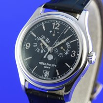 Patek Philippe pre-owned Automatic 39mm Blue Sapphire Glass 3 ATM