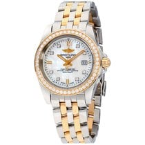 Breitling Galactic 32 Steel 32mm Mother of pearl United States of America, New York, Brooklyn
