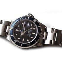Rolex Submariner Date Acier 40mm Noir Sans chiffres France, Paris/France/Europe