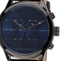Tommy Hilfiger Steel 44mm Quartz 1791593 new