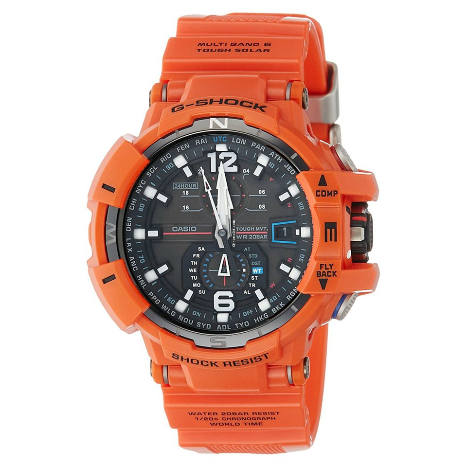 Shock Gwa1100r G Casio 4a Watch 1FKJlc
