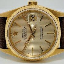 Rolex Oro amarillo Automático Oro Sin cifras 36mm usados Datejust