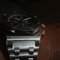 Audemars Piguet Royal Oak Offshore Chronograph occasion Noir Chronographe Date Acier