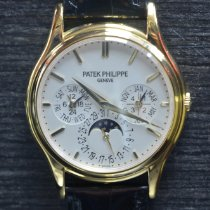 Patek Philippe Perpetual Calendar Yellow gold 37.2mm Silver No numerals United States of America, New York, New York