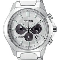 Citizen Titanium 43.5mm Quartz CA4320-51A new