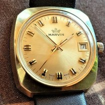 Marvin Gold/Steel 36mm Manual winding pre-owned