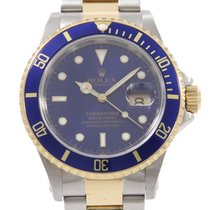 Rolex Submariner Date 40mm Blå