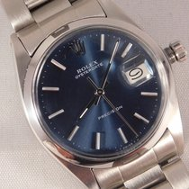 Rolex Oyster Precision 34mm Bleu
