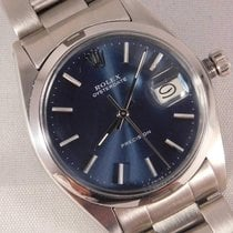 Rolex Oyster Precision Steel 34mm Blue United States of America, Michigan, Warren