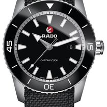 Rado Titanium Automatic Black 45mm new HyperChrome Captain Cook