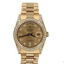 Rolex 118388 Or jaune 2015 Day-Date 36 36mm occasion