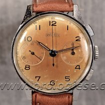 Angelus Vintage Exotic Cognac-brown Dial Manufacture Grade...