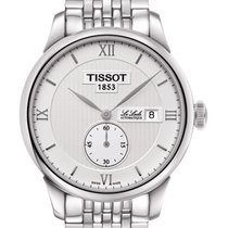 天梭 (Tissot) Le Locle Automatique Petite Seconde Steel Silver...