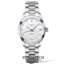 Longines Conquest Classic Mother Of Pearl Dial  34mm R