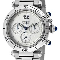 Cartier Pasha 38mm Stainless Steel Chronograph Automatic...