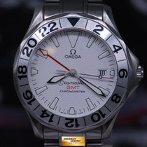 Omega Seamaster Diver Gmt 41mm Automatic White (near Mint)