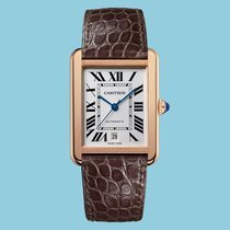 Cartier Tank Solo Red gold 31mm White Roman numerals