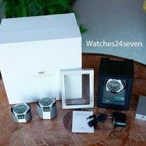 IWC Single Watch Winder Carbon Face Multiple Speeds