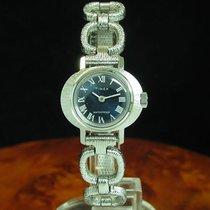 Timex Edelstahl Handaufzug Damenuhr / Kaliber 526