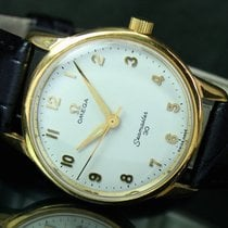 Omega Seamaster 30 Winding Roll Gold Steel Mens Vintage Watch
