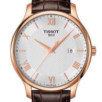 Tissot T0636103603800 Tradition Gents Quartz Silver Dial...