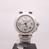 """Cartier Pasha GMT Stainless Steel """"Discontinued"""" Ref.W31078M7"""