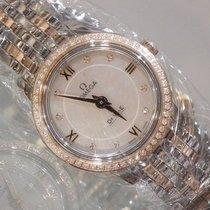 Omega De Ville Prestige 424.25.24.60.55.002-DE VILLE PRESTIGE Quarzo 24,4MM.Diamanti new