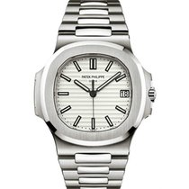 Patek Philippe Nautilus Steel 40mm White No numerals UAE, DUBAI (By Appointment 10am-10pm)