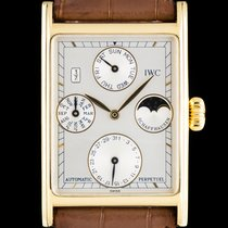 IWC Novecento Yellow gold 26mm Silver No numerals
