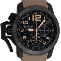 Graham : Chronofighter Oversize Black Sahara :  2CCAU.B02A.K93...