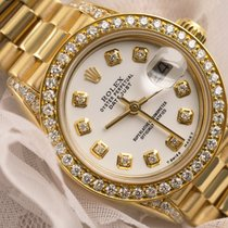 Rolex 6917 Yellow gold Lady-Datejust 26mm pre-owned United States of America, New York, New York