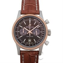 Breitling Transocean Chronograph 38 Steel 38mm Brown