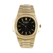 Patek Philippe Nautilus tweedehands 37mm Geelgoud