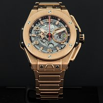 Hublot Big Bang Ferrari Oro rosado 45mm Plata