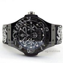Hublot Big Bang Broderie Керамика 41mm Чёрный