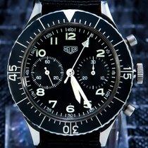 Heuer BUNDESWEH Tritium SG 1550 Flyback Chronograph TOP CONDITION