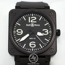 Bell & Ross Aviation Br0192 Steel Pvd 46mm Automatic Watch...
