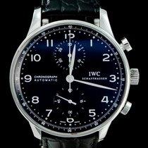 IWC Portuguese Chronograph occasion 40mm Acier