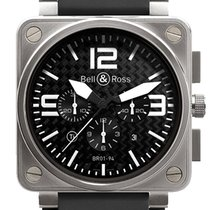Bell & Ross BR 01-94 Chronographe Titanium 46mm Arabic numerals United States of America, Florida, Tarpon Springs