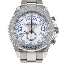 Rolex Yacht-Master II pre-owned 44mm White gold