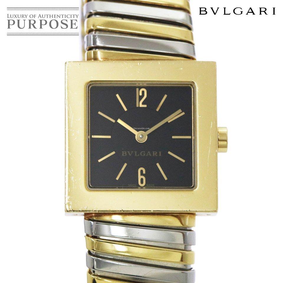 909522d5986 Bulgari Quadrato Yellow gold - all prices for Bulgari Quadrato Yellow gold  watches on Chrono24