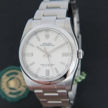 Rolex Oyster Perpetual White Dial 116000 NEW